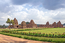 Ancient Stone Temple Complex Of Monuments In Pattadakal.