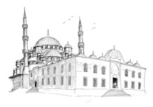 Yeni Cami Mosque Eminonu Istanbul