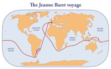 The Jeanne Baret Voyage And Circumnavigation Of The Globe
