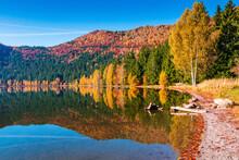 Saint Anne Lake.