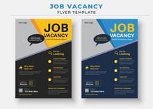Job Vacancy Flyer Template, We Are Hiring Job Flyer Template