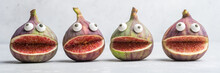 Spooky Figs Monsters For Halloween Party