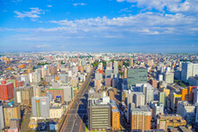 仙台の都市風景