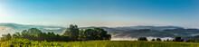 Panoramaansicht Des Bayrischen Waldes Von Perlesreut