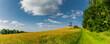 canvas print picture - Landschaft beim Ellenbogen in der Rhön