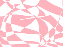 Illustration Pink Abstraction Background. Abstract Chess Geometric Background.