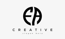 FA Creative Circle Letter Logo Design