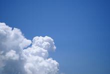 夏の美しい乱層雲