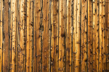 Old Weathered Brown Wood Siding Background