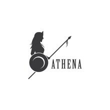 Silhouette Of Athena