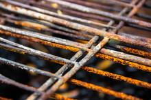 Rusty Barbecue Grill