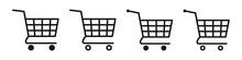 Shopping Cart Icon. Trolley Icon.