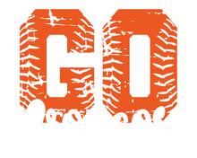 Go Broncos Grunge SVG, Football SVG, Mama Svg, Football Iron On, Broncos Svg, CheerLeader, Iron On, Broncos Team, Digital File Download