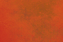 Artistic Background Or Abstract Texture Of Ocher Orange And Green Colors