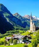 famous village Heiligenblut in Austria