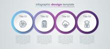 Set Line Radioactive, Dosimeter, Acid Rain And Radioactive Cloud And Warning Lamp. Business Infographic Template. Vector