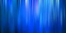 Gradient Vertical Blurry Blue Lines Background Motion Blur Stripes Abstract Waterfall Banner