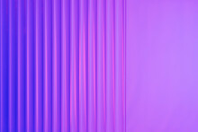 Colorful Gradient Background With Ribbed Acrylic Plate