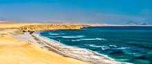 Supay Beach At Paracas National Reserve In Peru