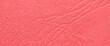 Czerwony papier z fakturą jako tło lub tekstura
