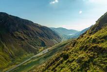 Snowdonia National Park - Wales. View Of Mach Loop.