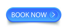 Book Now Blue Button. Vector Stock Illustration