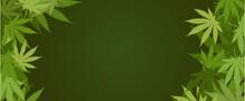 Cannabis Green Frame