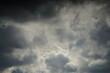 canvas print picture - Wolken Himmel bei Abendlicht und guter Stimmung