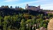Segovia budynek architektura zabytek miasto