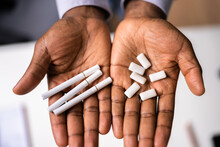 Addictive Smokeless Nicotine Chew Gum