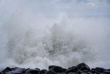 Severe Storm On The Black Sea