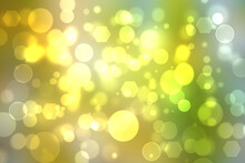 Geometric Polygon Background. Abstract Gradient Yellow Green Background Texture With Geometric Pentagon Or An Abstract Fantasy Surface Background. Beautiful Green Technology Background.