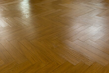 Contrasting Patterned Wooden Floor