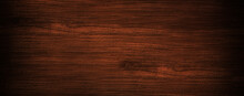 Old Reddish Grunge Dark Textured Wooden Background , The Surface Of The Old Brown Wood Texture