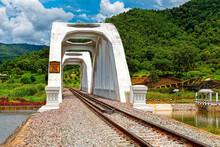 Ban Tha Chomphu White Bridge: