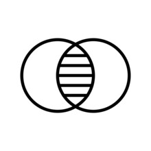 Pigment Outline Vector Icon Design