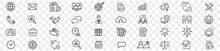 Administrator Manager Administrator Vector Icons Set. For Web Design Isolated On White Background