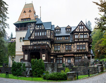 Pelisor Castle In Sinaia City - Romania 28.Sep.2021   It Was Built Between 1889 And 1903 By King Carol I