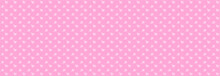 Abstract Vector Christmas Background With Pink Stars Pattern