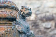 Sculpture En Fer Forgé