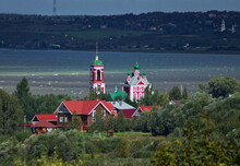Сhurch Of The Forty Martyrs On The Shore Of Lake Pleshcheyevo In Pereslavl-Zalessky, Russia
