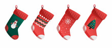 Collection Of Christmas Socks For Gifts