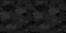 Dark Black Flat Seamless Abstract Hip Hop Street Art Graffiti Style Urban Vector Illustration Background Art