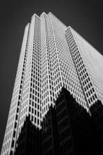 Black And White Photography - Skyscraper, San Francisco - USA