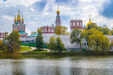 View Of The Famous Novodevichy Convent