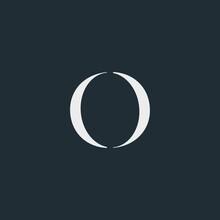 Modern Creative Monogram Initials O Logo Design