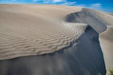 Sand Dunes At Magdalena Bay, Baja California Sur, Mexico