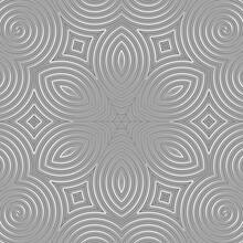 Abstract Kaleidoscopic Background Illustration.
