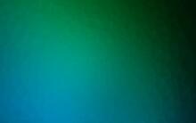 Dark Blue, Green Vector Triangle Mosaic Texture.