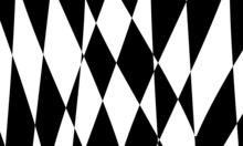 Black Abstract Pattern On White Background